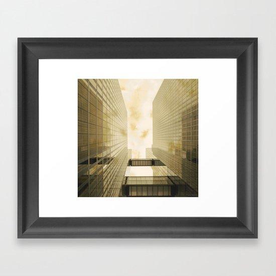 Upwards #1 Framed Art Print