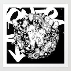 Wurmey Art Print