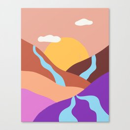 Rivers Canvas Print