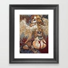 Corruption Framed Art Print