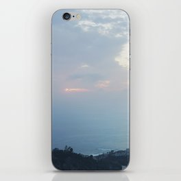 Blue Sunset over the Pacific iPhone Skin