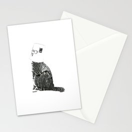 Ice-cream cat Stationery Cards