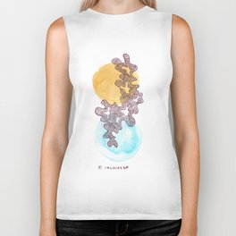 22 // Abstract 9 March 2017    Abstract Shapes Art Colour Biker Tank