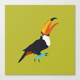 Tickled Toucan Canvas Print