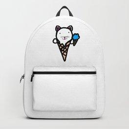 Ice Cream Cat Backpack