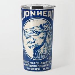 Old Matchbox label #6 Travel Mug
