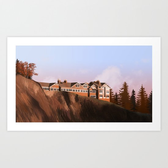 The Great Northern hotel Art Print