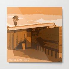 Hotel Lautner Metal Print