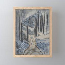 Tyger Framed Mini Art Print
