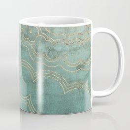 Mint Marble Coffee Mug