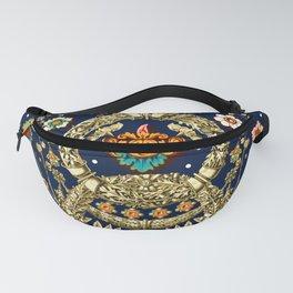 Art Nouveau Floral Pattern Fanny Pack