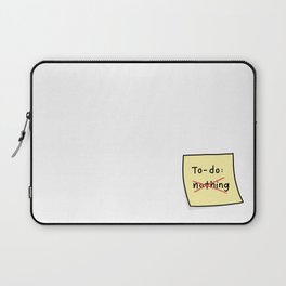 To-Do Sticky Note Laptop Sleeve