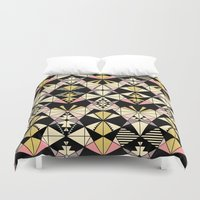 kaleidoscope Duvet Covers featuring Kaleidoscope by Kimsa