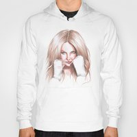 britney spears Hoodies featuring Britney Spears Shape Magazine by Eduardo Sanches Morelli