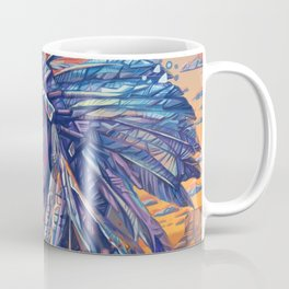 native american portrait-red cloud Coffee Mug