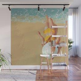 Beach Babe Wall Mural