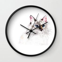 Beatiful Cat Wall Clock