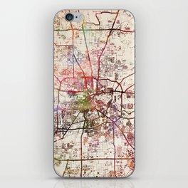 Houston iPhone Skin