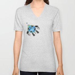 Painted Sea Turtle Unisex V-Neck