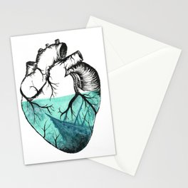 Sinking Heart Stationery Cards