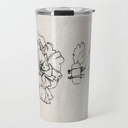 Flower Hairpin Travel Mug