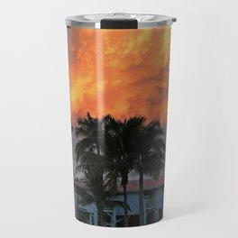 Sunset Over Tarpon Travel Mug