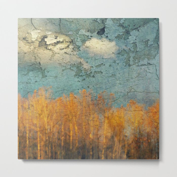 Everglades Abstract Metal Print