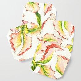 Pink Iris Coaster