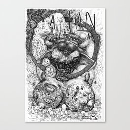 The Prince of Lies Canvas Print