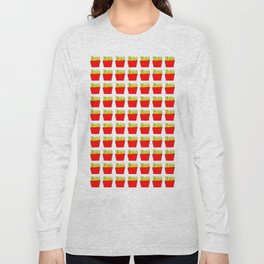 French fries -fries,patatoes,fast food,patato,frites,wedges,patata Long Sleeve T-shirt