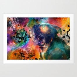 Canine Consciousness Art Print