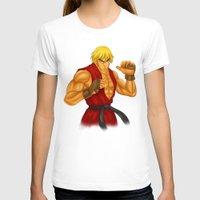 street fighter T-shirts featuring Ken Street Fighter by jasonarts
