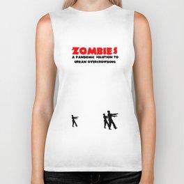 Zombie Pandemic Biker Tank