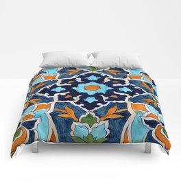 Mediterranean tile Comforters