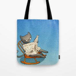 Jellybean The Grown-up Cat Tote Bag