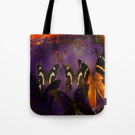 Butterfly flee Tote Bag