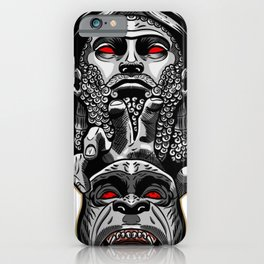 Anunnaki - from the sky to the earth iPhone Case