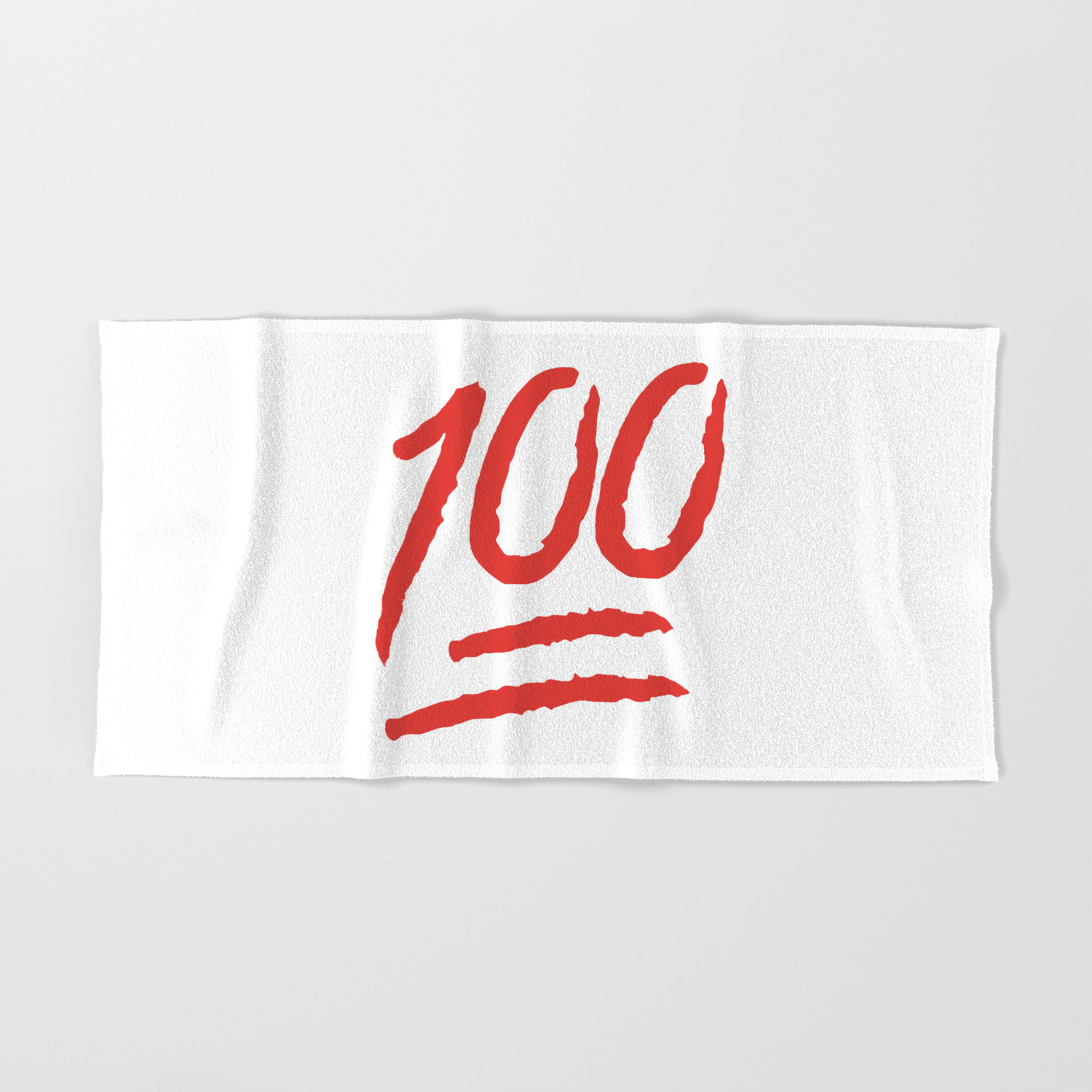 Keep It 100 One Hundred Funny sayings quotes Hand & Bath Towel