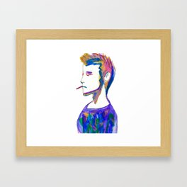 Jonah- Water Color Painting Framed Art Print