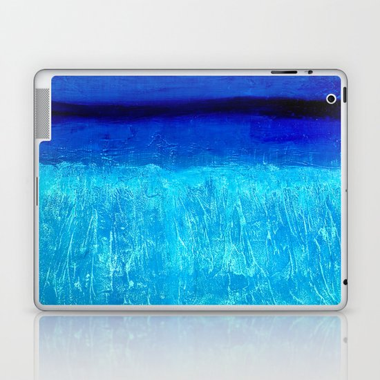 Blue Serenity Laptop & iPad Skin