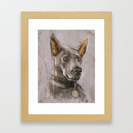 What are you drawing Ryan? // 278 Framed Art Print