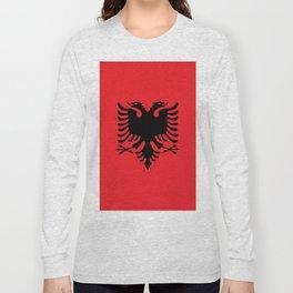 Albanian flag Long Sleeve T-shirt