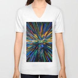 Explosion of Color Unisex V-Neck