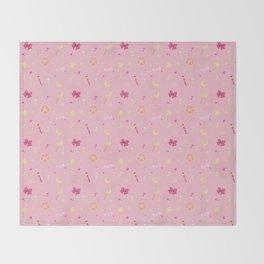 Sailor Moon Pattern Throw Blanket