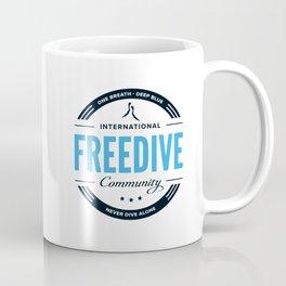 Freedive Community Coffee Mug