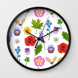 Nature collection Wall Clock