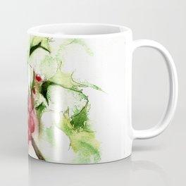Holly Sprig, December Mist Coffee Mug