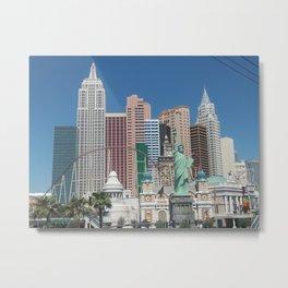 New York in Vegas Metal Print