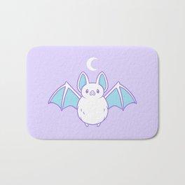 Cute Pastel Bat Bath Mat