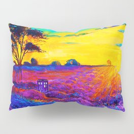Tardis Art Starry Tree Pillow Sham